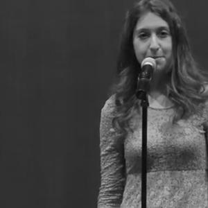 "Lily Myers poem - ""Shrinking Women"""
